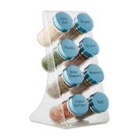 Kamenstein® Acrylic 8-Jar Spice Rack
