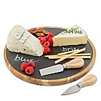 CucinaPro™ Lazy Susan Slate Cheese Plate