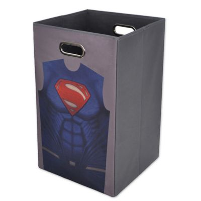 Buy hamper with handles from bed bath beyond - Superhero laundry hamper ...