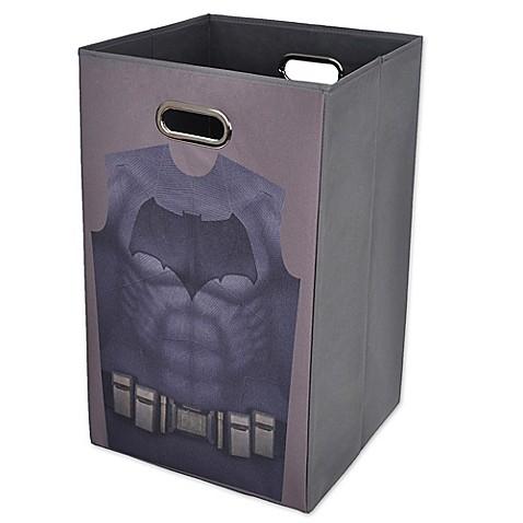 Buy batman vs superman batman folding laundry hamper from bed bath beyond - Batman laundry hamper ...