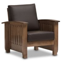 Charlotte Chair in Walnut Brown