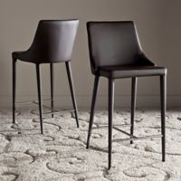 Safavieh Summerset Counter Stool in Brown
