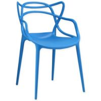 Modway Entangled Dining Arm Chair in Blue