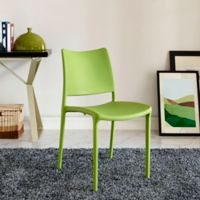 Modway Hipster Dining Side Chair in Green