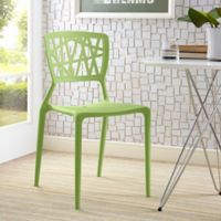 Modway Astro Dining Side Chair in Green