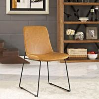 Modway Invite Dining Side Chair in Tan