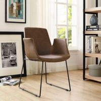 Modway Dining Armchair in Brown