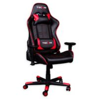 Techni Sport Home Office Racing Style PC Gaming Chair in Red