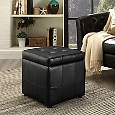 Modway Tufted Leatherette Ottoman Bed Bath Amp Beyond