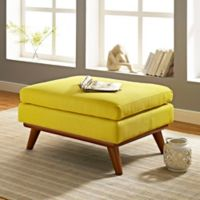 Modway Engage Ottoman in Yellow