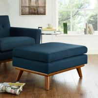 Modway Engage Ottoman in Azure