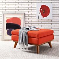 Modway Engage Ottoman in Atomic Red
