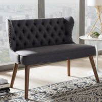 Wholesale Interiors Inc. Scarlett Loveseat in Brown/Grey