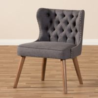 Wholesale Interiors Inc. Scarlett Accent Chair in Grey/Brown