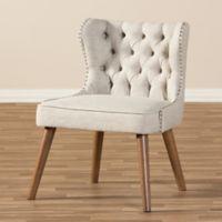 Wholesale Interiors Inc. Scarlett Accent Chair in Beige/Brown