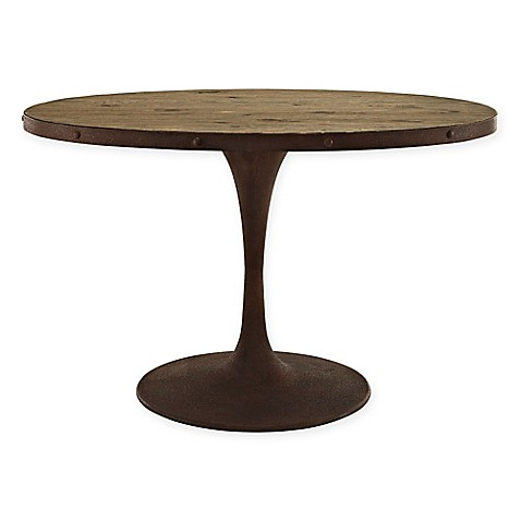 Buy Modway Drive 47 Inch Oval Wood Top Dining Table In