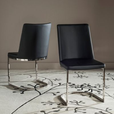 Buy Safavieh Franklin X Back Chairs In Antique Black Set