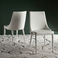 Safavieh Summerset Polyurethane Side Chair in White (Set of 2)