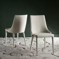 Safavieh Summerset Linen Side Chair in Linen Beige (Set of 2)