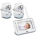 VTech Owl VM344-2 4.3-Inch Digital Video Baby Monitor with 2 Cameras