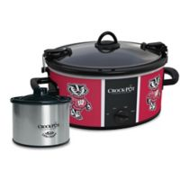 University of Wisconsin Crock-Pot® Cook & Carry™ Slow Cooker with Little Dipper Warmer