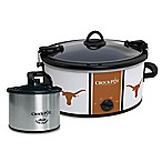 University of Texas Crock-Pot® Cook & Carry™ Slow Cooker with Little Dipper Warmer