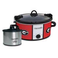 University of Georgia Crock-Pot® Cook & Carry™ Slow Cooker with Little Dipper Warmer