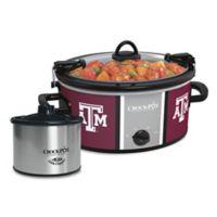 Texas A&M University Crock-Pot® Cook & Carry™ Slow Cooker with Little Dipper Warmer