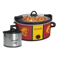 USC Crock-Pot® Cook & Carry™ Slow Cooker with Little Dipper Warmer