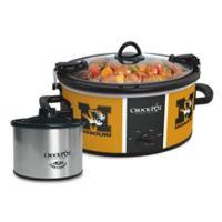 University of Missouri Crock-Pot® Cook & Carry™ Slow Cooker with Little Dipper Warmer