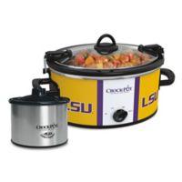 LSU Crock-Pot® Cook & Carry™ Slow Cooker with Little Dipper Warmer