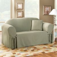 Sure Fit® Duck Supreme Cotton Sofa Slipcover