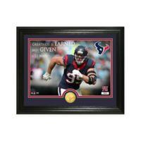 """NFL J.J. Watt """"Quote"""" Photo Mint"""