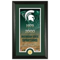 "NCAA Michigan State University ""Legacy"" Supreme Bronze Coin Photo Mint"
