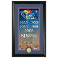 "NCAA University of Kansas ""Legacy"" Supreme Bronze Coin Photo Mint"