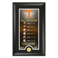 """NCAA University of Tennessee """"Legacy"""" Supreme Bronze Coin Photo Mint"""