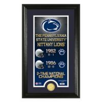 "NCAA Penn State University ""Legacy"" Supreme Bronze Coin Photo Mint"
