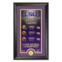 "NCAA LSU ""Legacy"" Supreme Bronze Coin Photo Mint"