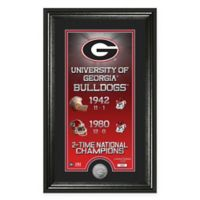 "NCAA University of Georgia ""Legacy"" Supreme Bronze Coin Photo Mint"