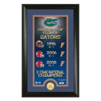 "NCAA University of Florida ""Legacy"" Supreme Bronze Coin Photo Mint"
