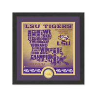 "NCAA LSU ""State"" Photo Mint"