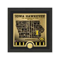 "NCAA University of Iowa ""State"" Photo Mint"