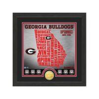 "NCAA University of Georgia ""State"" Photo Mint"