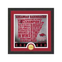 """NCAA University of Arkansas """"State"""" Photo Mint"""