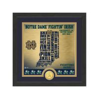 "NCAA University of Notre Dame ""State"" Photo Mint"
