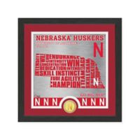 "NCAA University of Nebraska ""State"" Photo Mint"