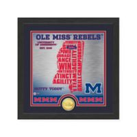 "NCAA University of Mississippi ""State"" Photo Mint"