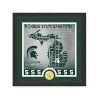 "NCAA Michigan State University ""State"" Photo Mint"