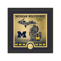 "NCAA University of Michigan ""State"" Photo Mint"