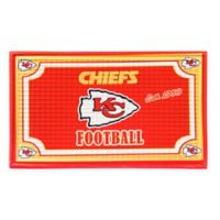 NFL Kansas City Chiefs Embossed Door Mat